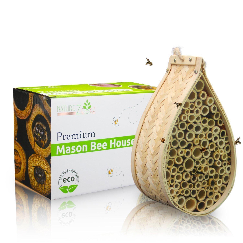 Bamboo Mason Bee House