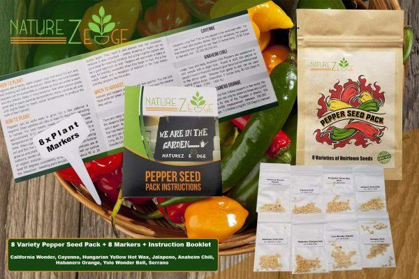 NatureZedge hot pepper seeds