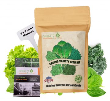 Greens seeds for planting