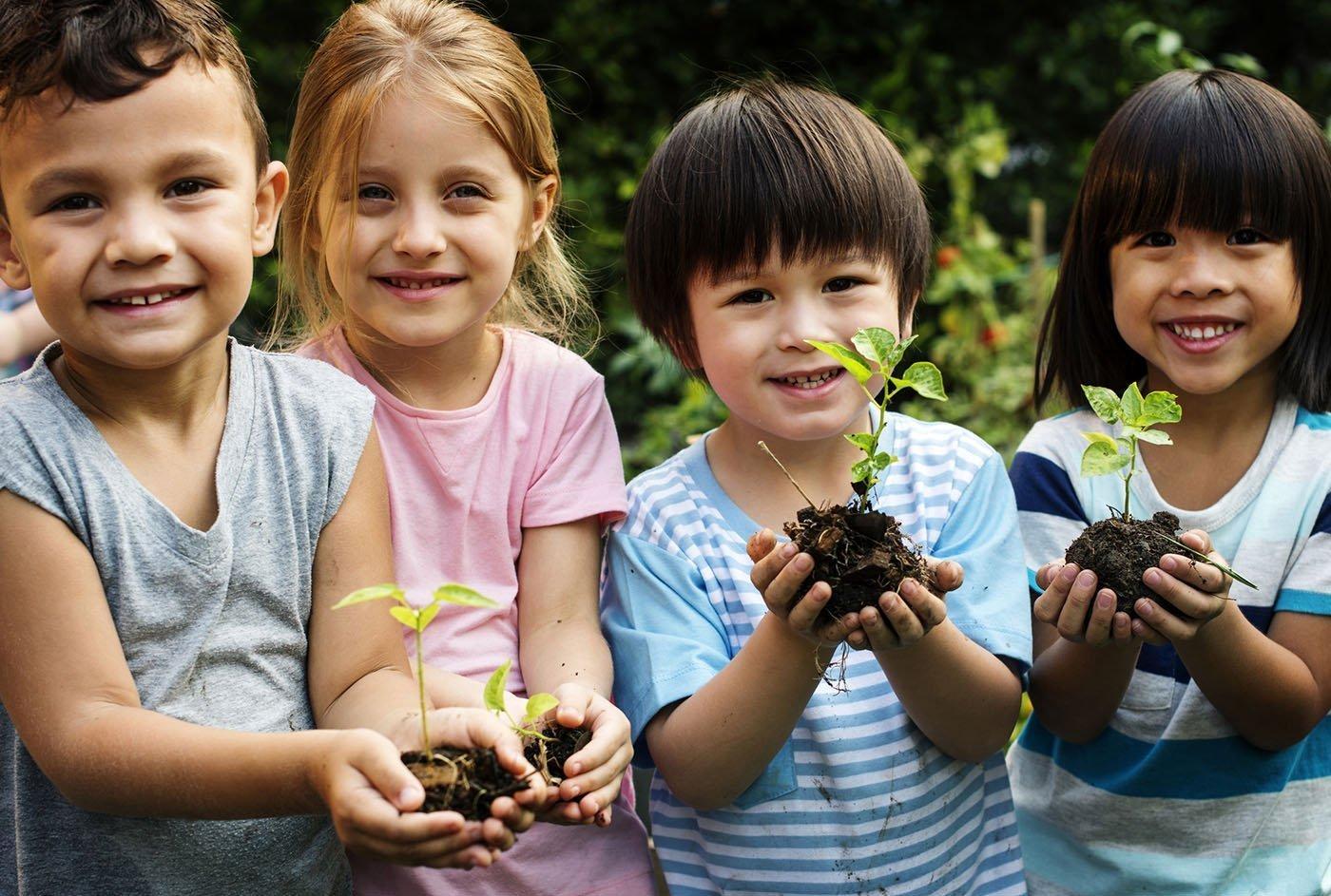 The Basics to Gardening With Children