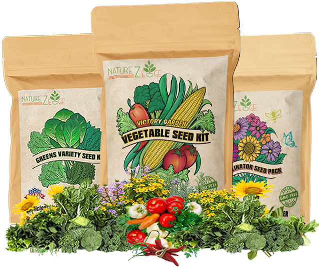 buy NatureZedge Non-gmo Open Pollinated Seed Packs