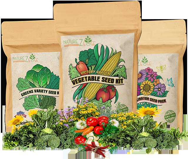 buy NatureZedge Non-gmo Open Pollinated Seed Packs