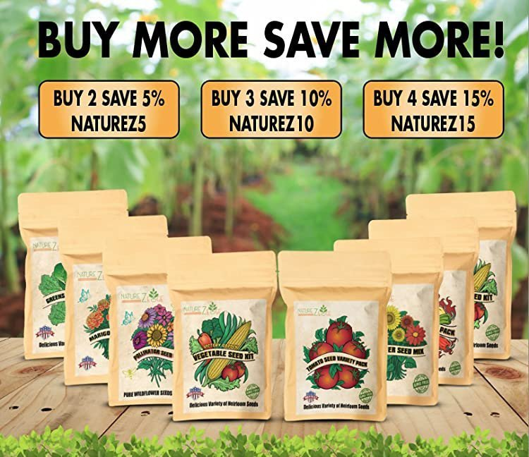 Buy More Seed Kits and Save