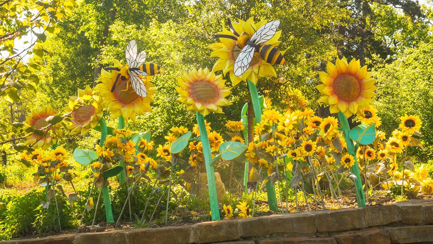how to design an sunflower house